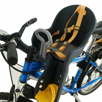 NEW Safe Child Baby Kids Bike Bicycle Cycling Front Seat Carrier & Handrail SA
