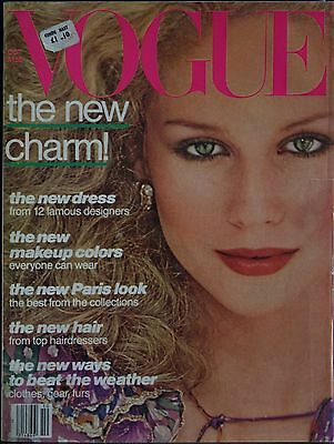 Magazine VOGUE US - October 1977