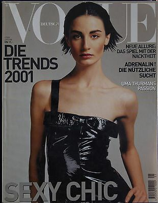 Magazine VOGUE Deutsch - Janvier 2001