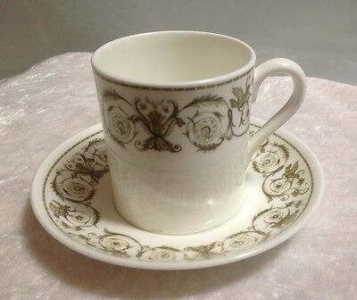 Vintage Wedgwood Perugia Bone China Coffee Cup And Saucer