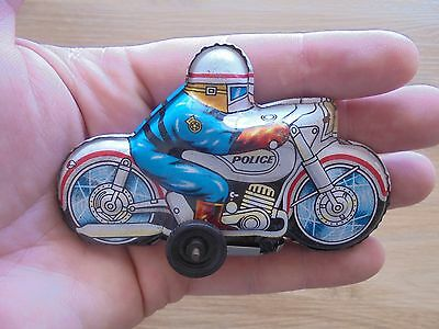 TIN FRICTION MOTOR BIKE TOY BIKE 1960/70s - Made in Japan_USED_xx79_A5a18