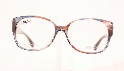 eca6bfca1562 Jimmy Choo Jc 42 E68 Classic Ladies Tortoise And Blue Plastic Glasses Frame