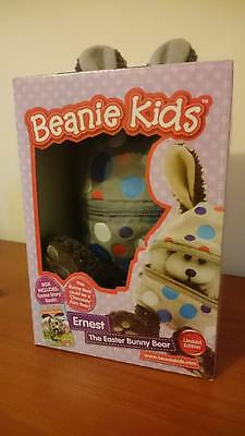 Beanie kids Ernest the Easter Bunny Bear Limited Edition Box