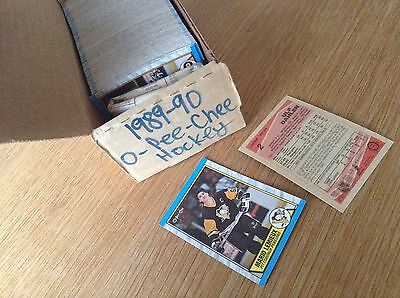 Complete Set 1989-90 O Pee Chee NHL Ice Hockey Trading Cards