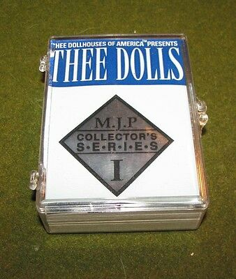 """Thee Doll Houses"" SER.1 Collector Card Set of 50 Nude Cards Full Frontal Nud"
