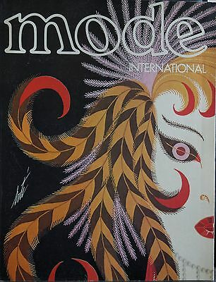 Magazine MODE INTERNATIONAL - #17 - Mai 1977