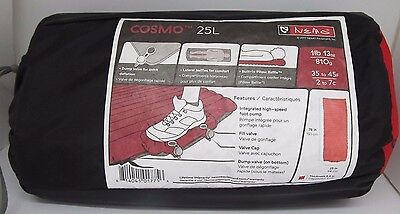 Nemo Cosmo Insulated Air Sleeping Pad (Fire Red, 25 Long)