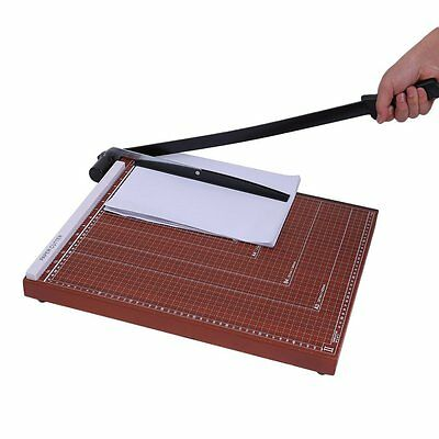 """18"""" A3 - B7 Paper Cutter Trimmer Base Wood Board Office Home MY"""