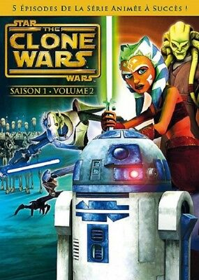 Star Wars The Clone Wars Saison 1 Volume 2 DVD NEUF SOUS BLISTER