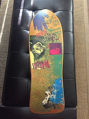 Vintage Mike Smith Madrid Skateboard
