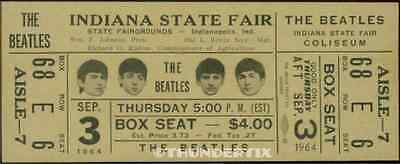 11 1964 THE BEATLES FULL UNUSED CONCERT TICKETS scrapbooking frame reprint set 1