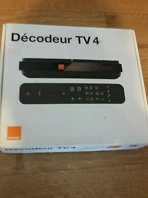 decodeur TV4  orange