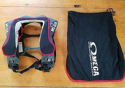 Omega neck brace protection motocross hans device collar adult kart bmx downhill