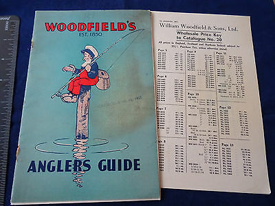 A Scarce Vintage Woodfield's Fishing Catalogue No 20 For 1951