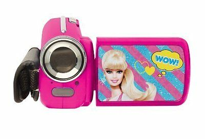 Lexibook LE-DJ280BB Videocamera Digitale 12 Mp per Bambine, Barbie, Rosa