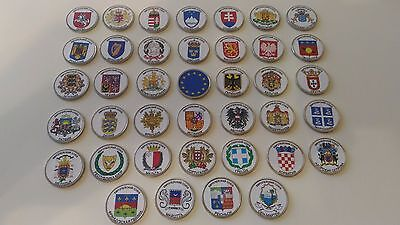 ✔ 2017 Russia 2 roubles rubles UNC the European Union Set 39 Pcs