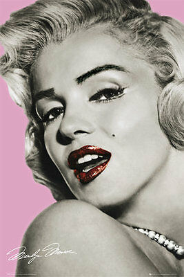 Maxi Poster 61x91.5cm  - MARILYN MONROE Pink Lips