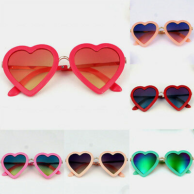 Goggle Boys Heart Children Sunglasses Personality Glasses Girls Baby Cute Kids