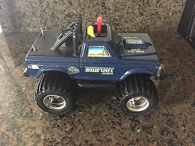 Vintage 1980s Playskool Big Foot 4x4 Battery Operated Monster Truck Toy