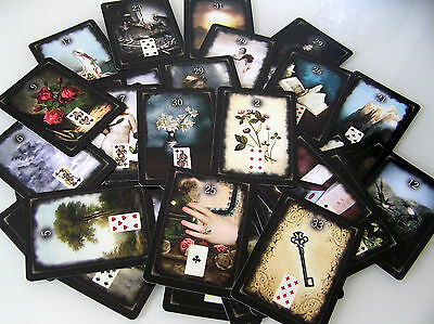 Petit Lenormand ORACLE 43 Cartes