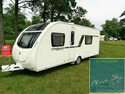 *2013 Swift Challenger Sport*4 Berth*immaculate Condition*