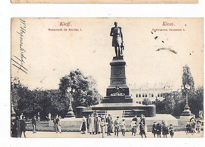 OLD Postcard Russia Ukraine Kiev 1900 to Netherlands Postage Due etc.