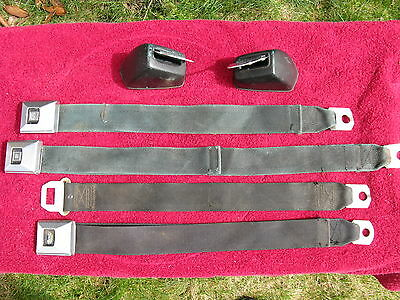 1967 1968 1969 Chevrolet Pontiac Buick Oldsmobile Deluxe Retractable Seat Belts