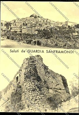 Benevento Guardia Sanframondi cartolina A4778 SZG