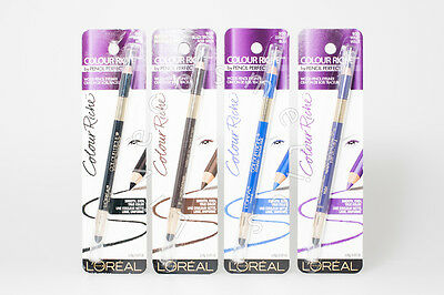 L'oreal Colour Riche Wood Duo Pencil Eyeliner - Choose Shade - | Rrp £9.20 |