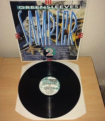 GreenSleeves Sampler Volume 2 /Various Artists 1980's vinyl LP MINT/ex