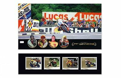 Isle of Man Official TT Races Winners Presentation Pack (VI41)