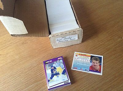 Complete Set 1991 Score NHL Ice Hockey Trading Cards