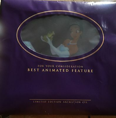 """Disney's """"The Princess And The Frog"""" Limited Edition Original Sericel - Rare!!!"""