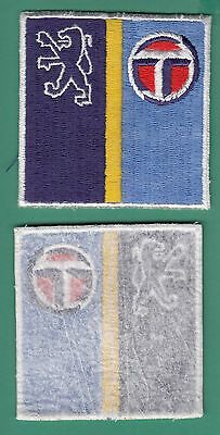 insigne tissu badge patch brodé automobile moto cycle huile PEUGEOT TALBOT