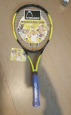 Head Radical Tour Limited OS Andre Agassi Ltd Edition Tennis Racket L4 (4 1/2)