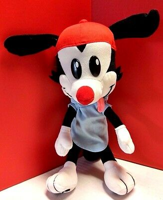 Vintage Play by Play Animaniacs Wakko Poseable Plush Doll Stuffed Toy 1995 16""