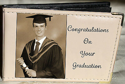 Personalised Photo Album 6 x 4,Graduation,Memory/Guest Book, Gift, keepsake