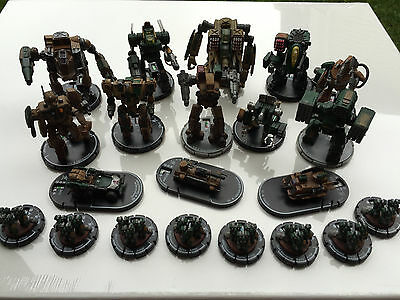 MechWarrior Highlanders Uniques Lot Vera Soloman Caden Senn Kava Graves