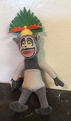 King Julien Penguins Of The Madagascar Stuffed Animal Plush Toy Size:12""