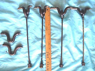 Vintage Singer Metal Pitman Arm Original Treadle Sewing Machine Parts LOT
