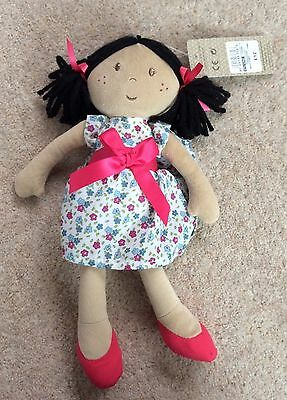 Pretty Rag Doll From M&S ~ Band New With £12 Price Tag