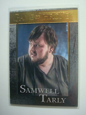 2016 **GAME Of THRONES** Season 5 GOLD Card  #35 Samwell TARLY **113/150**