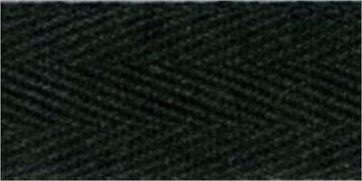 """Products From Abroad 107-25-14 100% Cotton Twill Tape 1""""X55yd-Black"""