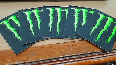 Moto Gp Yamaha Tech 3 Monster Energy Stickers X 5