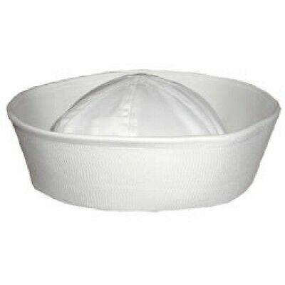 New Current Issue USN NAVY Dixie Cup White Hat with Tags. Size 7 1/4