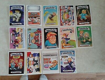 2016-2017 Garbage Pail Kids disgrace to the white house