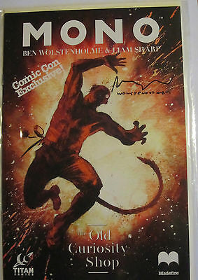 Mono The Old Curiosity Shop Comic - Signed Ben Wolstenholme Liam Sharp Comic Con