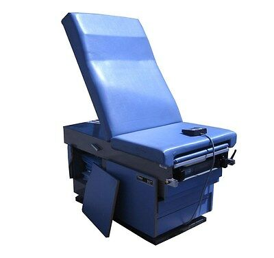Midmark Ritter 107 Electric Powered High-Low Medical Exam Table+Foot Switch