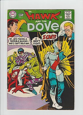 The Hawk and the Dove #1 (Aug-Sep 1968, DC) F/VF (7.0) Steve Ditko Art !!!!!