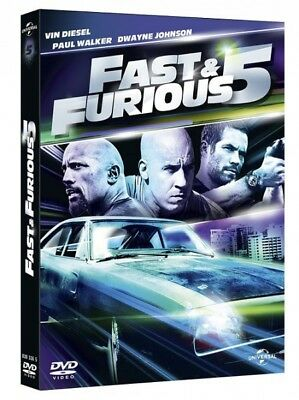 Fast & furious 5 (Vin Diesel, Dwayne Johnson, Paul Walker) DVD NEUF SOUS BLISTER